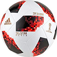 Ballon de foot Adidas Telstar 18 Coupe du Monde Top Glider