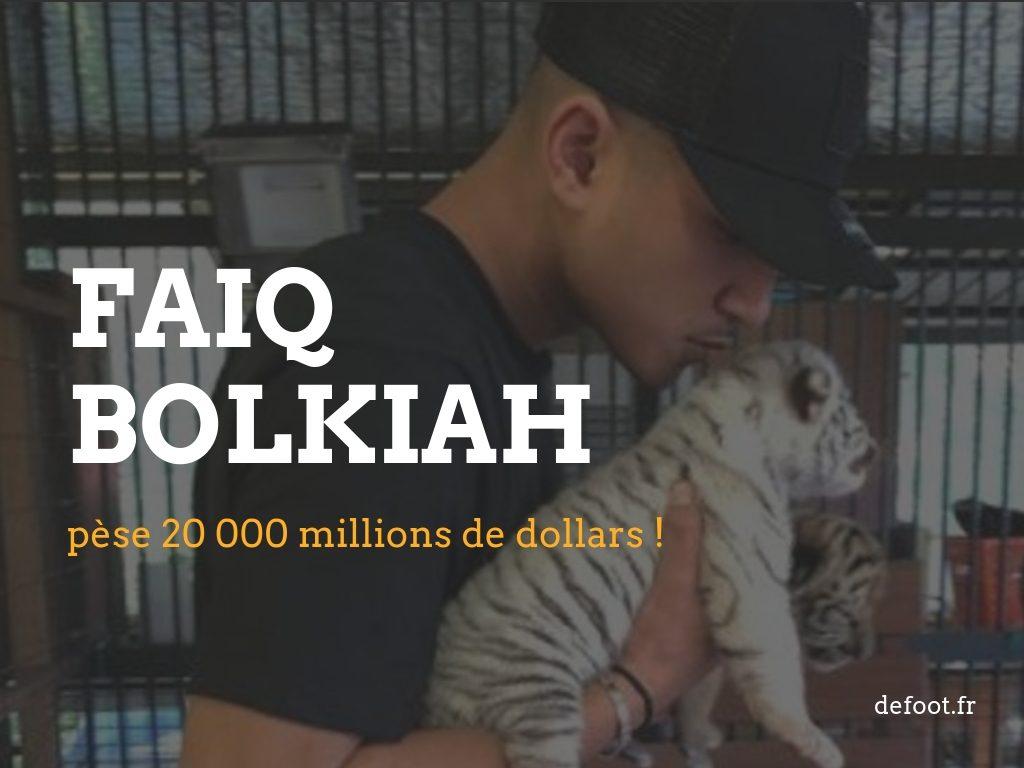 Le joueur de foot le plus riche du monde 2018 Faiq Bolkiah