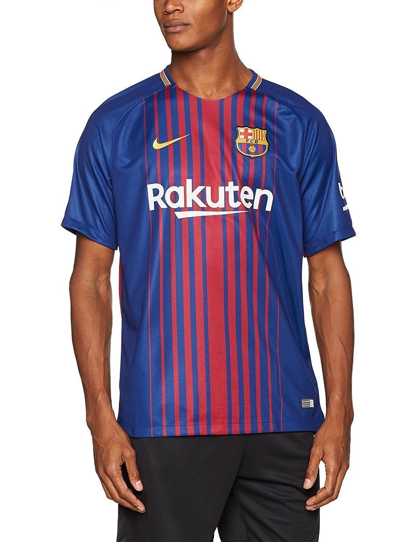 Maillot de Foot FC Barcelone Nike Domicile 2018-2019