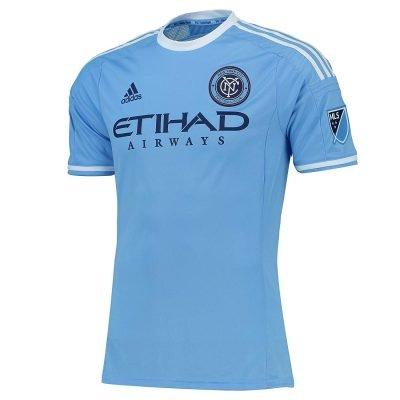 Maillot de foot Adidas New York City FC Authentic On-Field Climalite