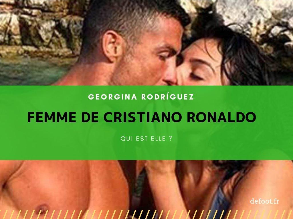 Qui est femme de Cristiano Ronaldo Georgina Rodríguez