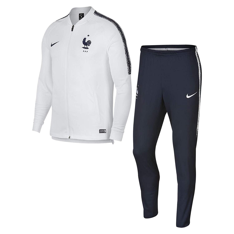 survêtement de foot Nike équipe de France Blanc Obsidian 893384-102
