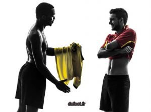Le maillot peut être échangé avec un joueur de l'équipe adverse