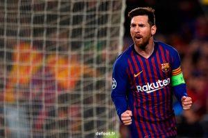 Lionel Messi, le joueur vedette du FC Barcelone