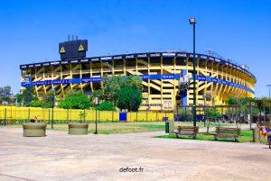 Boca Juniors, club champion d'Argentine.