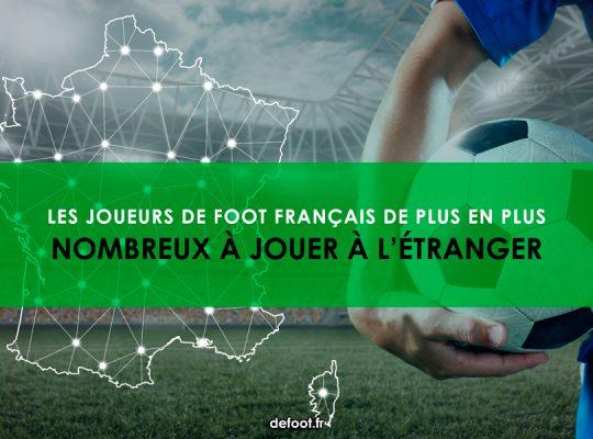 Les joueurs de foot français de plus en plus