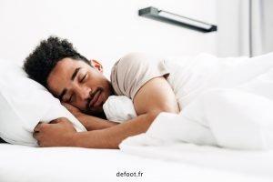 Les phases de sommeil des joueurs de foot